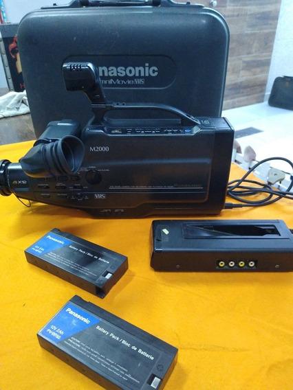 Filmadora Panasonic Omni Movie (vhs) M2000 - Fabricação 1991