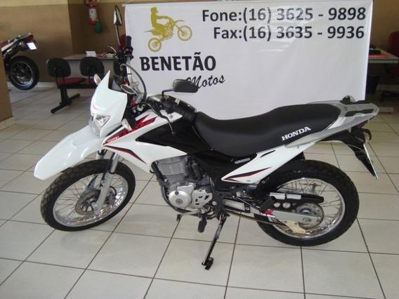 Honda Nxr 150 Bros Esd Branco 2014