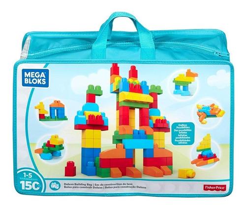 Legos Mega Blocks Bolsa Deluxe 150 Piezas Fisher Price Orig