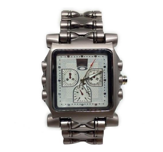 Relógio Oakley Tank Minute Machine - Branco