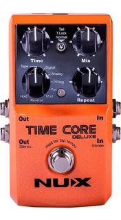 Pedal Multiefectos Delay Nux Time Core Para Guitarra Bajo /