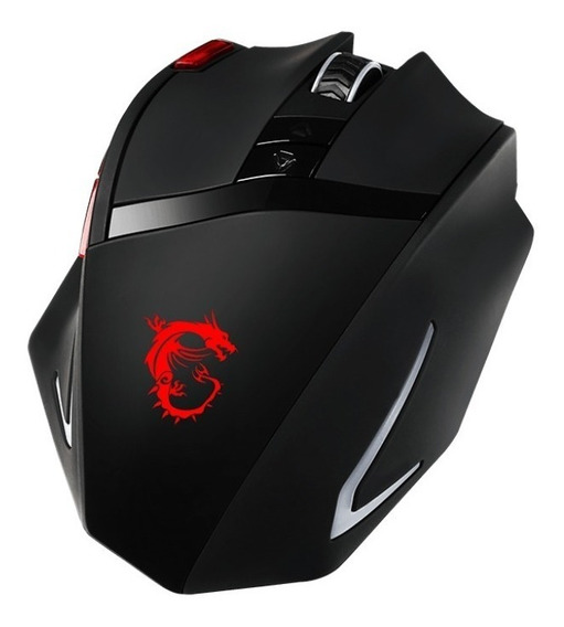 Mouse Msi Usb Gamer Ds200 8200 Dpi Interceptor
