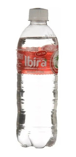 Fardo Com 12 Garrafas De Agua Mineral Ibira 510 Ml Com *gaz*