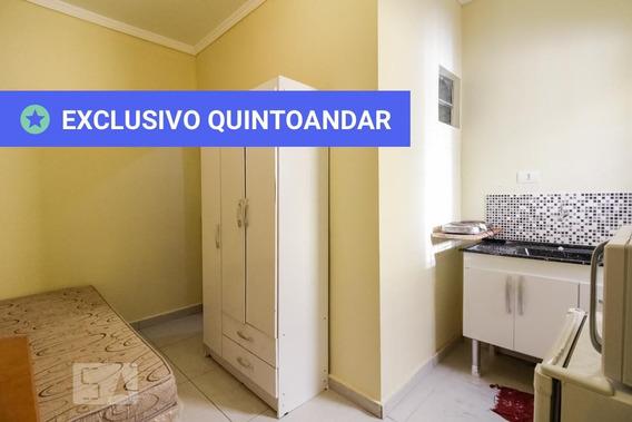 Studio No 1º Andar Mobiliado Com 1 Dormitório - Id: 892890975 - 190975