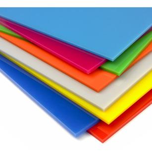 Lamina Acrilico - Colores - Transparente - Grosor 2mm A 30mm