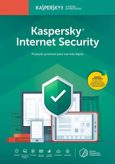 Kaspersky Internet Security 1 Dispositivo 1 Ano Download