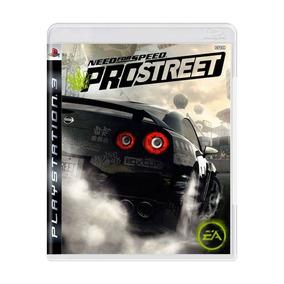Need For Speed Pro Street Ps3 Mídia Física Lacrado