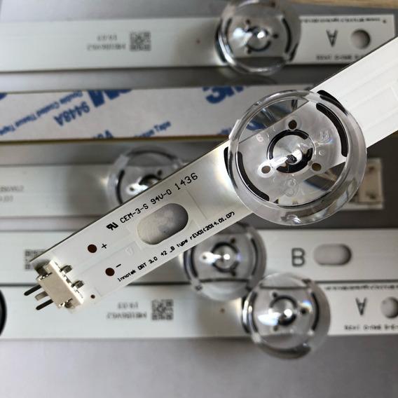 Barras De Led Tv LG 42lb5500 42lb5600 42lb5800 42lb6200 C/8