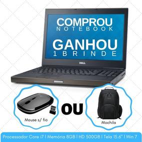 Notebook Dell Precision Core I7 8gb Hd500 Até 12x Sem Juros