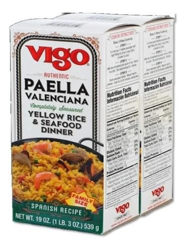 Paella Valenciana Vigo 2 X 539 G - g a $45