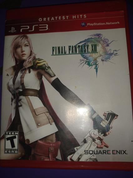 Final Fantasy Xiii Ps3 Mídia Física Original