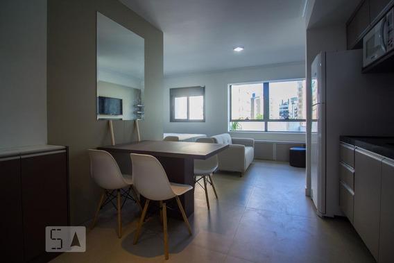 Apartamento Para Aluguel - Chácara Das Pedras, 1 Quarto, 37 - 892997741