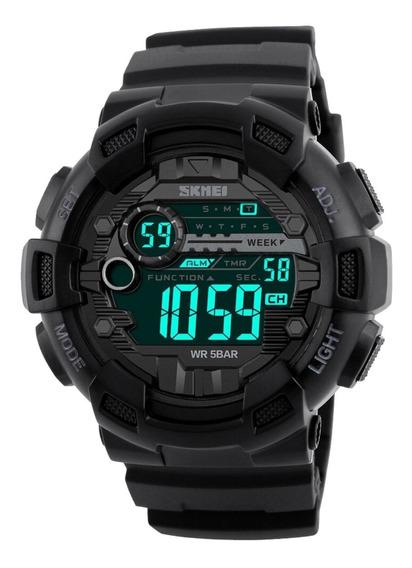 Relógio Skmei 1243 Digital Esportivo Treino Mergulho Corrida