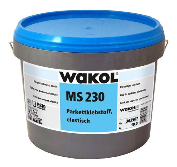 Adhesivo Para Pisos De Madera 18 Kg Wakol