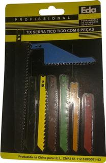 Kit Com 8 Serras Tico Tico C 8 Pçs Eda