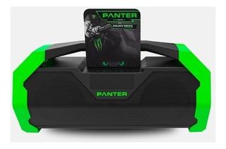 Parlante Portátil Inalámbrico Bluetooth Monster Panter Pbb02