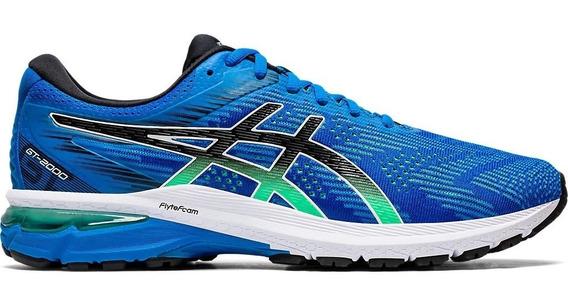 Asics Zapatillas Running Hombre Gt-2000 8 Azul