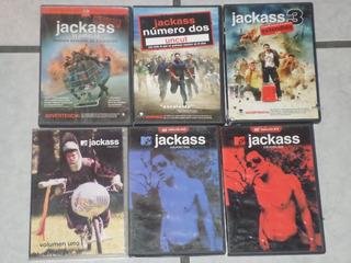 Coleccion Jackass - Las 3 Peliculas Y 3 Tv Series - 6 Dvd