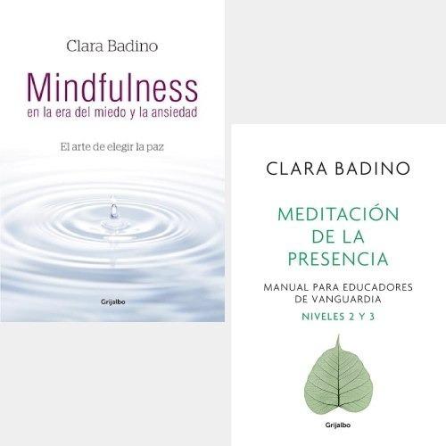 Imagen 1 de 4 de Pack Clara Badino - Mindfulness + Meditación De La Presencia
