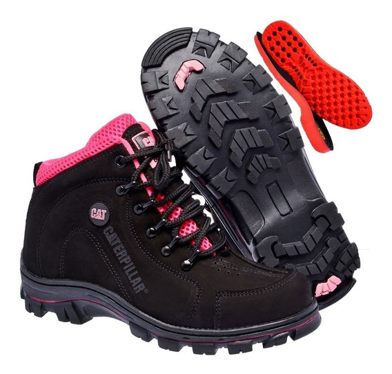 Coturno Bota Caterpillar Adventure Feminino Original