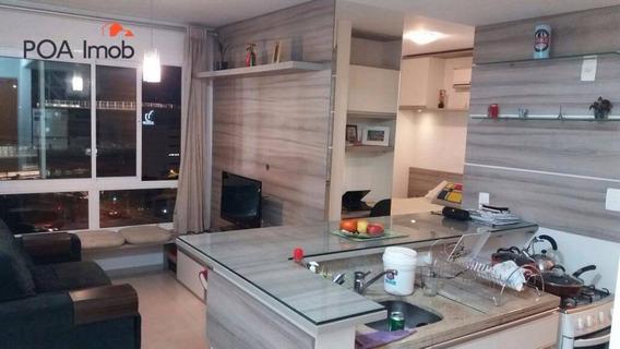 Loft Mobiliado E Equipado No `parigi Residence, Bairro Três Figueiras - Lf0014