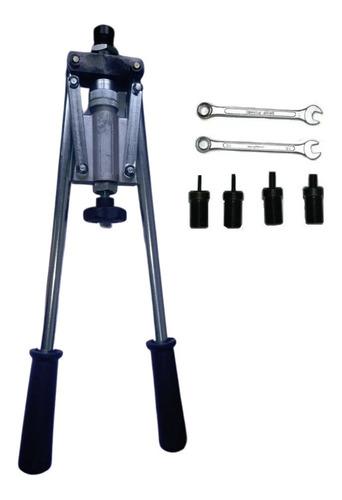 Imagem 1 de 5 de Alicate Rebitador Rosca M4 A M10 - Brinde 30 Rebite Maberfix