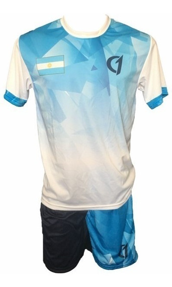 Conjunto Remera Short Dry Fit Tenis Paddle Class One Arg