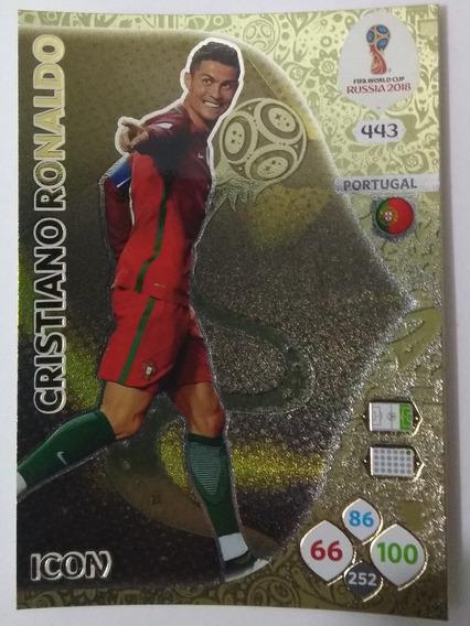 Lote 34 Cards Adrenalyn Xl Cristiano Ronaldo- Rússia 2018