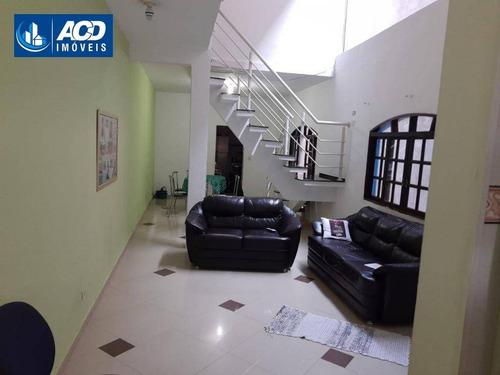 Sobrado Com 3 Dormitórios, Por R$ 300.000 - Jardim Álamo - Guarulhos/sp - So0074