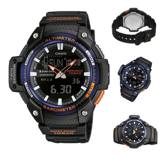 Reloj Casio Hombre Outgeart Sgw-450h-2b, Altimetro,barometro