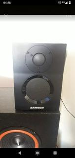 Monitores Samson Bt3 Permuto!!!!! Por Teclado Midi Usb
