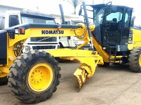 Motoniveladora Patrol Komatsu Gd655 2013 3.160 Hrs