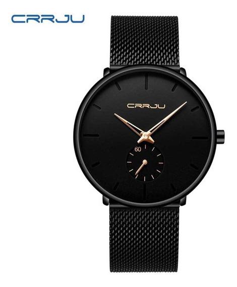 Crrju Relógio De Pulso Masculino Casual De Quartzo De Negóci