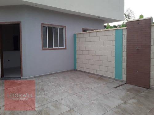 Casa Com 1 Dormitório À Venda, 39 M² Por R$ 155.000,00 - Jardim Itapel - Itanhaém/sp - Ca1937