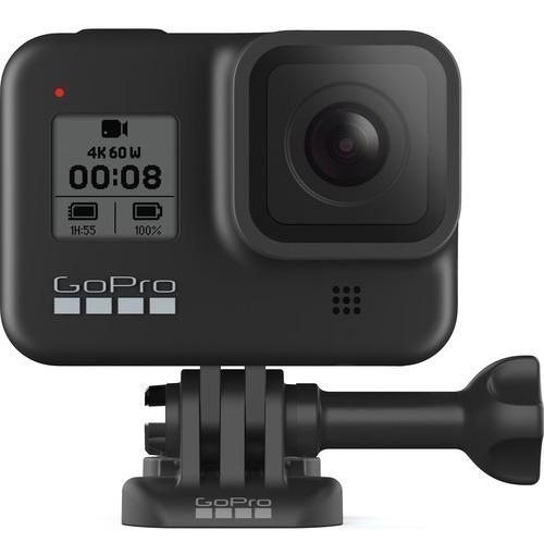 Câmera Digital Gopro Hero 8 Black 12 Mp Wi-fi 4k 12x S/juros