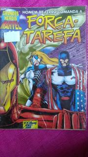 Grandes Heróis: Marvel Homem De Ferro - Força-tarefa N°55 Hq