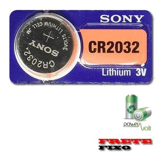 Bateria Sony Cr2032 Lithium 3v | Placa Mãe C/01 Pilha