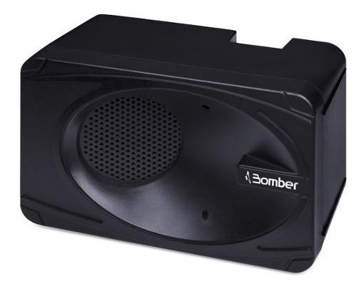 Caixa De Som Bluetooth Bomber Carregadora Preta My Bomber