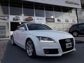 Audi Tt 2.0 Blanca 2013 Automatica Led Cupe Inpecable