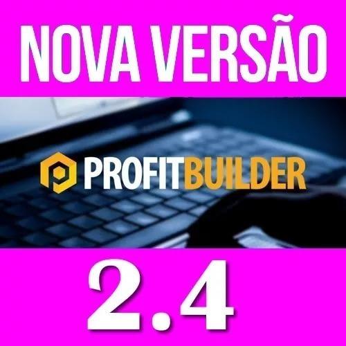 Plugin Wp Profit Builder 2.4 +tema Melhor Que Optmizepress
