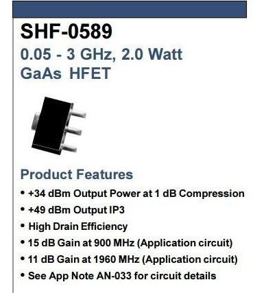 Kit Rf - Era 5 + Shf0589 + Res. + Cap Smd
