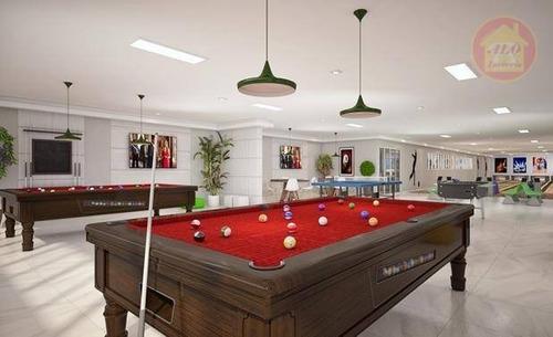Apartamento À Venda, 60 M² Por R$ 307.800,00 - Boqueirão - Praia Grande/sp - Ap5346