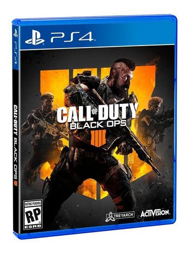 Juego Fisico Sellado Cod Call Of Duty Black Ops 4 Sony Ps4