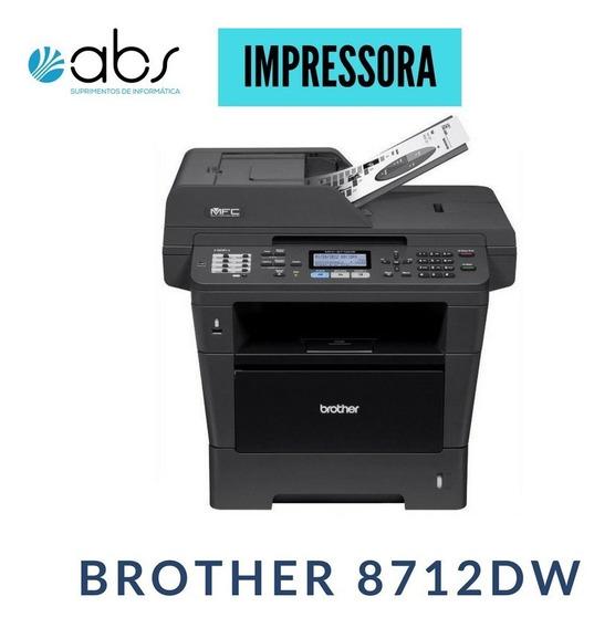 Laser Multifuncional Brother 8712dw C/três Toner Novos