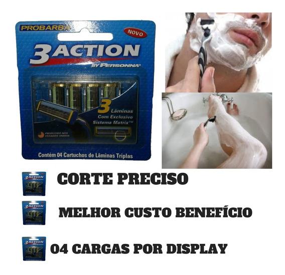 Kit 10 Carga Para Aparelho De Barbear Sensor Promoção Barato