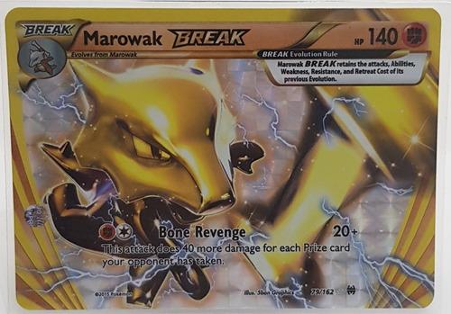 Marowak Break (79/162) - Original + 50 Cartas De Brinde