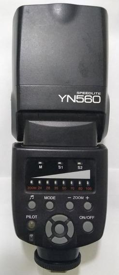Flash Yongnuo Yn560 Universal Para Canon Nikon