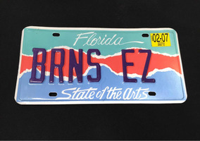 Placa De Carro Original Estados Unidos Florida