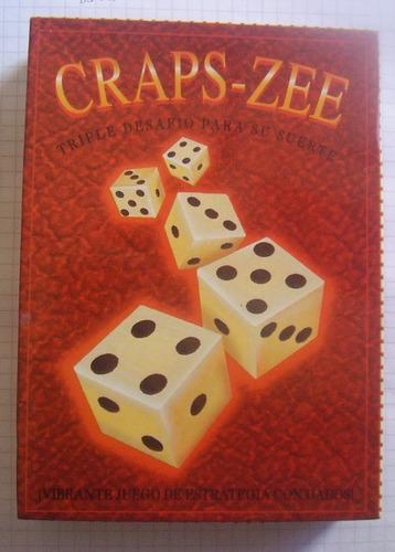 Imagen 1 de 2 de Game Juego Craps Zee Spanish Juego De Mesa Craps Zee En Espa