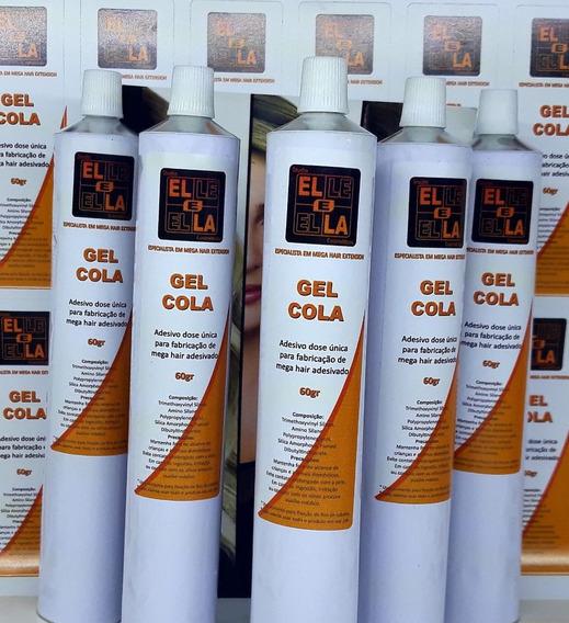 30 Tubos Gel Cola Para Fabricação Mega Hair Na Fita De 60g
